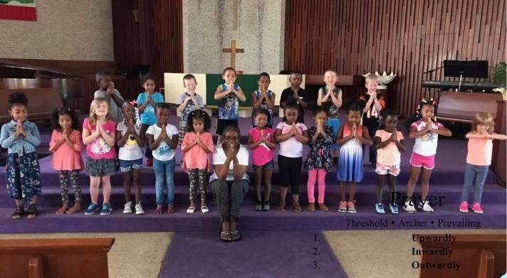 LGA in Sanctuary with Pastor