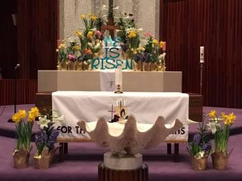 2017 Easter Altar